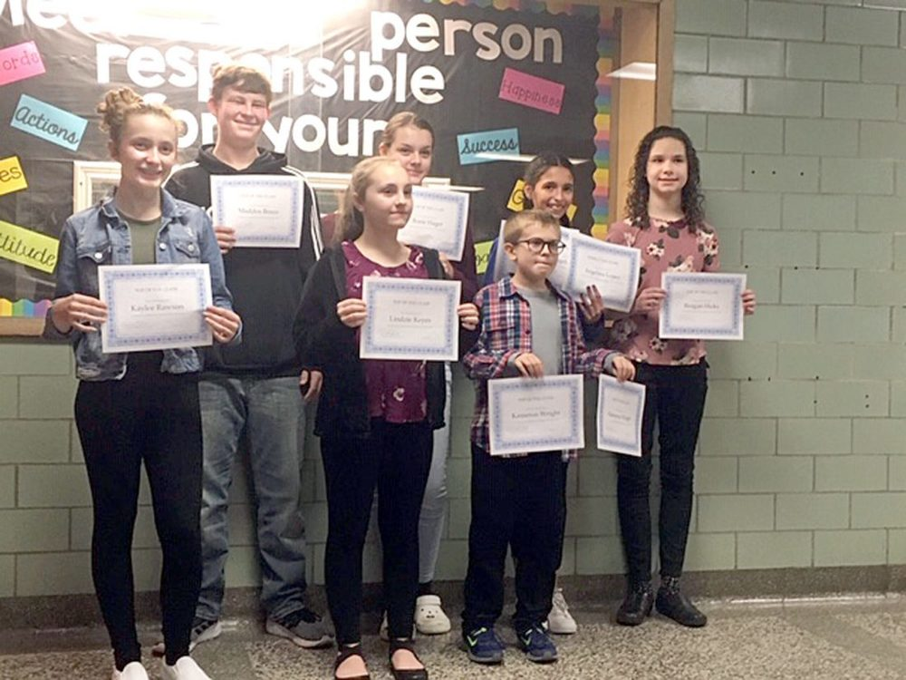 Wellsville students recognized for test scores