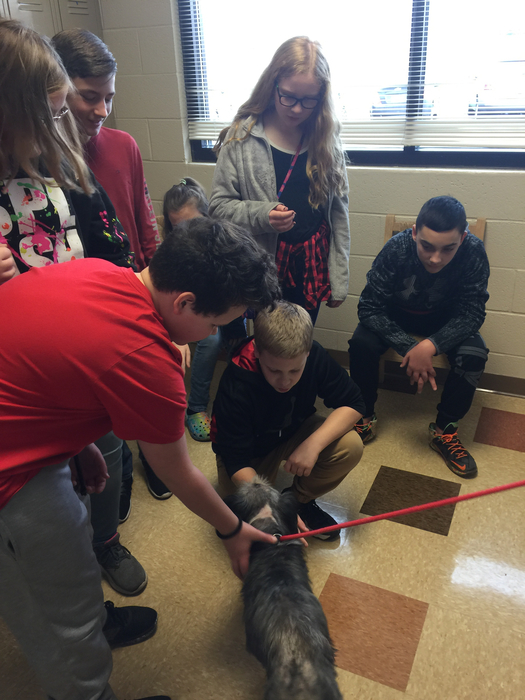 6th grade trip to the Jefferson County Humane Society